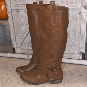JustFab Tall Women's Boots Wide Calf Size 10